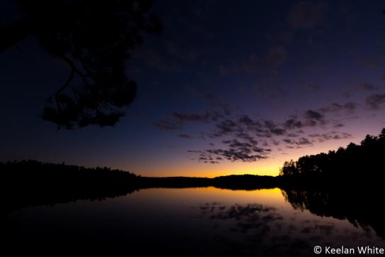 Sunset on Elizabeth L