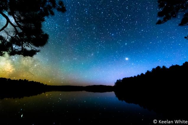 Milky Way over Elizabeth L