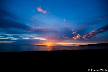 Sunset on L Superior