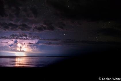 Lightning Strike over L Superior
