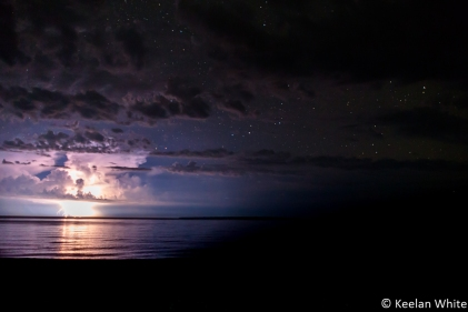 Lightning Strike over L Superior