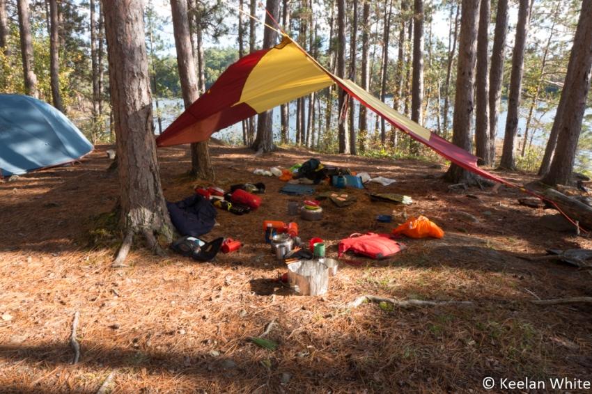 Campsite on Elizabeth L
