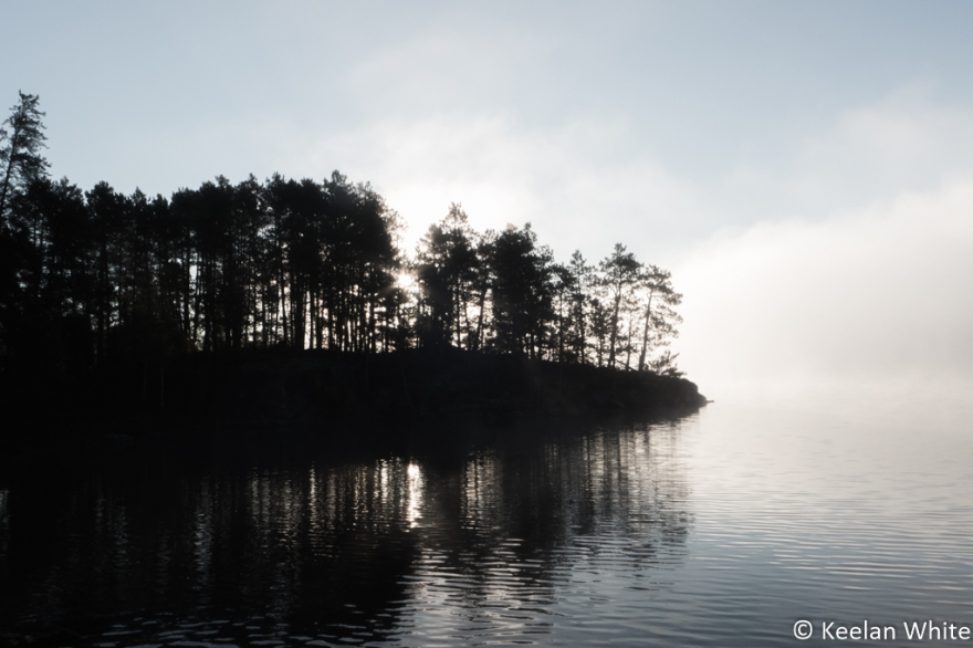 Sunrise and Mist on Elizabeth L