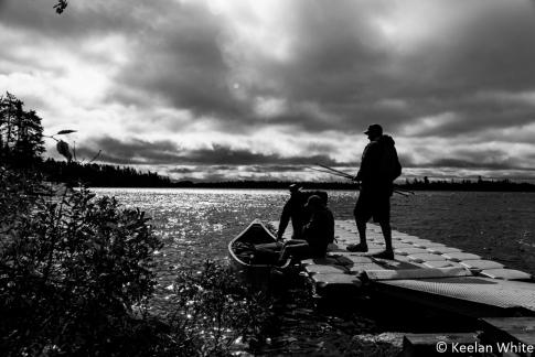 Put-In on Nym Lake