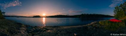 Sunset on Oriana L