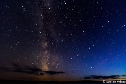 Milky Way over Elizabeth Lake